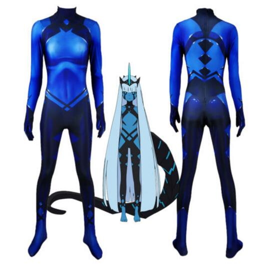 001 Klaxosaur Princess DARLING in the FRANXX Cosplay Costumes 3D Print Superhero Zentai Suit Woman Girls