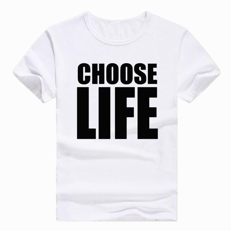 Tamanho asiático impressão hipster george michael escolher vida camiseta manga curta o-pescoço tshirt para homem e mulher hcp4330