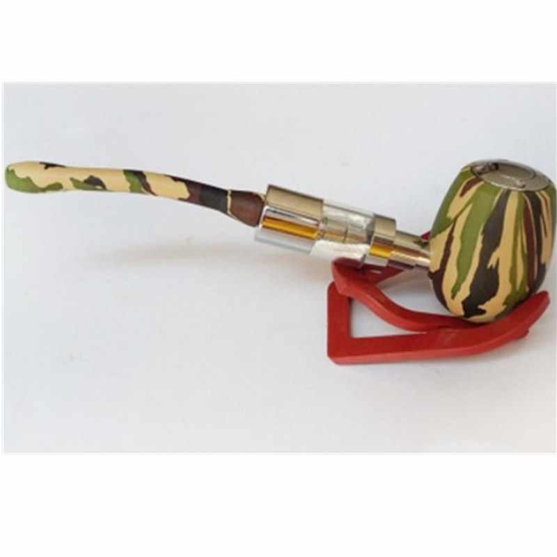 K1000 E pipe vape mod kit для 3,5 мл емкость e жидкий испаритель двойные катушки стеклянный резервуар для распылителя испаритель vape ручка электронная сигарета