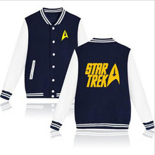 Star Trek Designs Baseball Jacket Women Jacket in Spock and Prosper Autumn Jacket Women Long Slim Lady XXS 4XL high quality