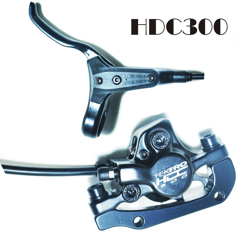 D'origine Tektro HDC300 vtt frenos hidraulicos disque de frein à main minérale presse à huile avant et arrière freio hidraulico vélo freins