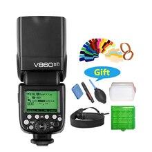 Godox V860IIF V860II-F Flash speedlite TTL HSS 2.4G for Fujifilm Cameras