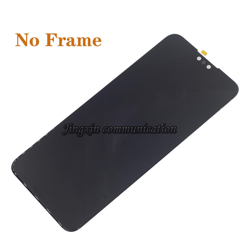 Image 3 - Original display with frame For Huawei Y9 2019 LCD touch screen digitizer assembly for Y9 2019 JKM LX1 LX2 LX3 lcd repair parts-in Mobile Phone LCD Screens from Cellphones & Telecommunications