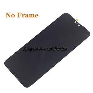 Image 3 - Oryginalny dla Huawei Y9 2019 wyświetlacz LCD z ekranem dotykowym digitizer zgromadzenie dla Y9 (2019 ) JKM LX1 LX2 LCD z ramą naprawy części