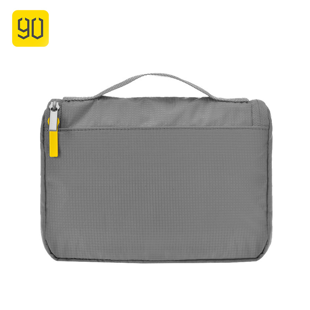 Xiaomi 90 Fun Waterproof Portable Travel Bag Unisex Hanging Toiletry Clear Travel Storage Bag Cosmetic Carry Toiletry Organizer xiaomi travel toiletry wash bag waterproof cosmetics storage organizer