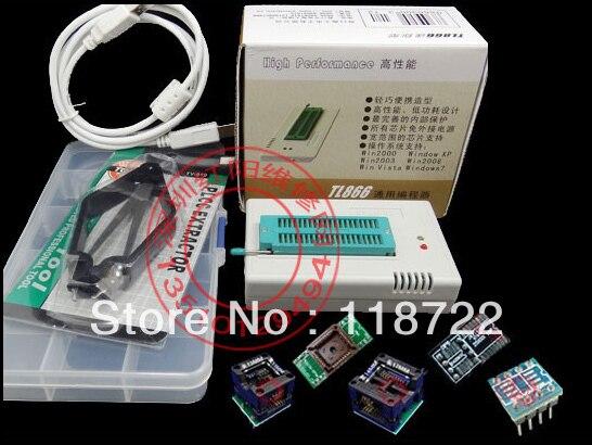 все цены на 1 Set V6.0 MiniPro TL866CS Prgrammer USB Universal Programmer /Bios Programme+6 pcs Adapter онлайн