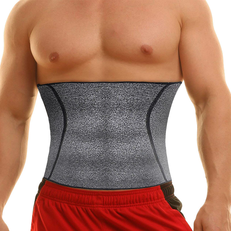 005a535c8b NINGMI Men s Hot Shaper Waist Trainer Fat Compression Body Modeling Belt Tummy  Trimmer Strap Slimming Cincher Neoprene Shapewear
