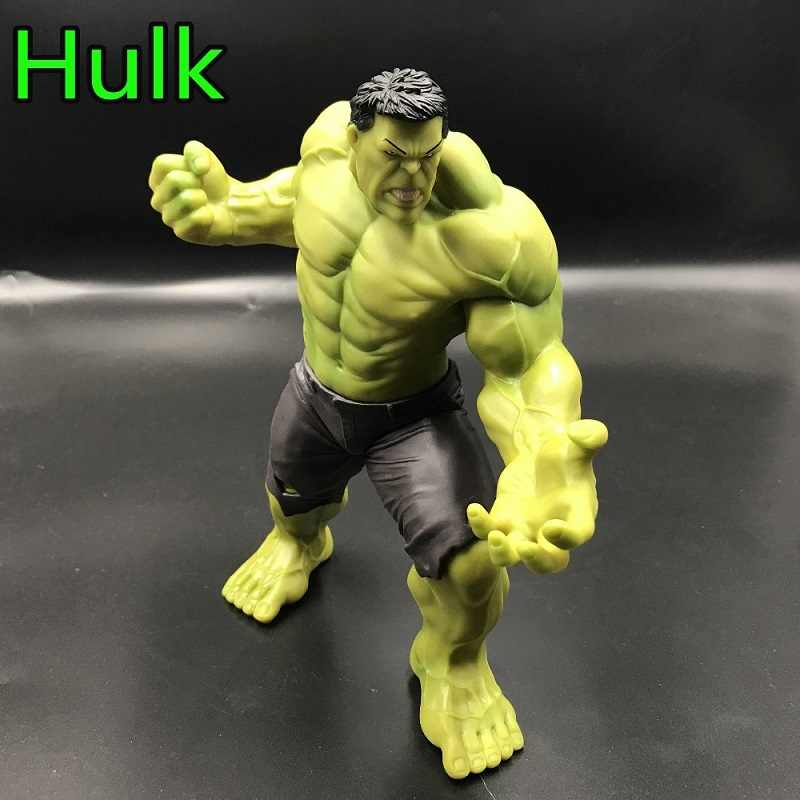 1 PC Marvel Avengers:Infinity War Hulk Anime Figure Toy Cartoon Big Size 20cm Hulk Pvc Display Model Jouet Xmas Bithday Gift
