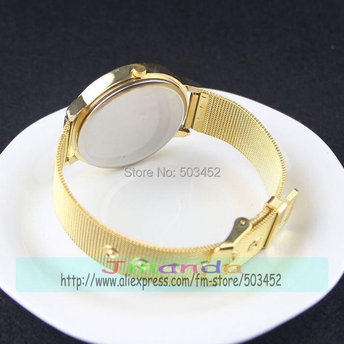 100 шт./лот 1589 Клевер Дизайн Сетка сплав часы новое поступление женские кварцевые часы цена кварцевые часы платье часы