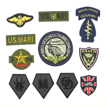 2018 New 1 pcs Iron-on Military STYLE badges parches ropa plancha Constellation patch D-039