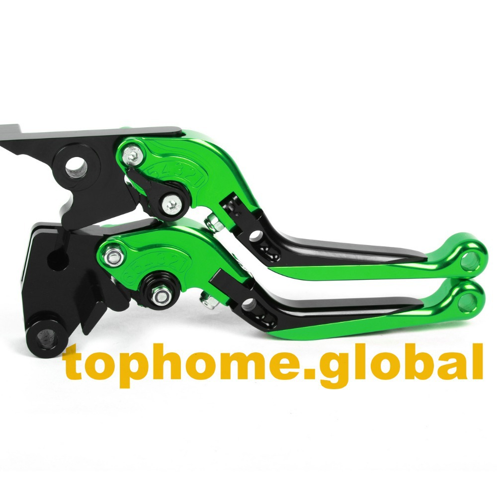 Motorcycle Accessories CNC Folding&Extending Brake Clutch Levers For Kawasaki ZZR1100 1993-2001 1994 1995 1996 1997 1998 1999