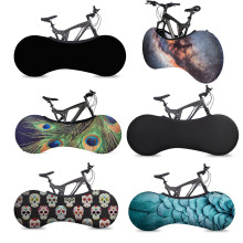 Portable Bicycle Wheel Cover Indoor Storage Anti Dust Bike Storage Bag Protection Cover Bicycle Universal Protective Clothing