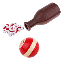 Perfeclan Стандартный смоляный пул кия мяч и шейкер бутылки Tally шары горох для бильярда забавное игровое оборудование для клуба