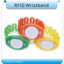 10pcs Free shipping 125Khz RFID Wristband Bracelet  EM4100 Waterproof Proximity Smart Card Watch Type for Access Control