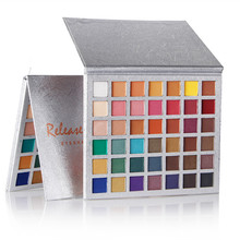 Global fashion girl 42 color eyeshadow glitter eye shadow disc high gloss matte Lazy box explosion hot sale