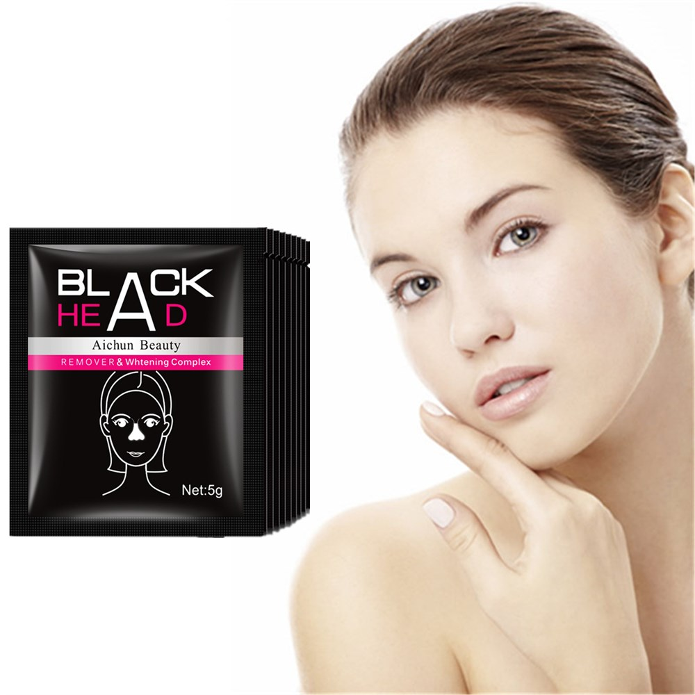 Aichun Beauty Skin Blackhead Killer Facial Black Mask Face Care Nose Acne Blackhead Remover Pore Cleanser Black Head Treatment