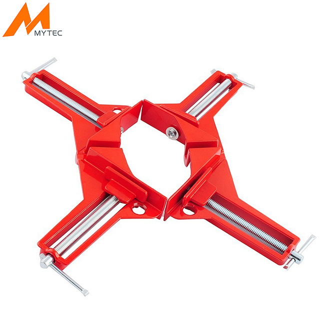 2pcs 90 degree 4\'\' Right Angle Clip Picture Frame Clamps Holder For ...