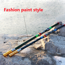new pesca 2.1m – 3.6m Super hard Carbon Fishing Rod Telescopic Fishing Pole Spinning Saltwater Rods