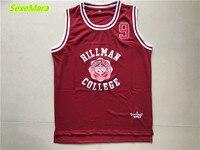 2018 New Mens Cheap Throwback Basketball Jerseys 9 Dwayne Wayne A Different World Hillman College Theater