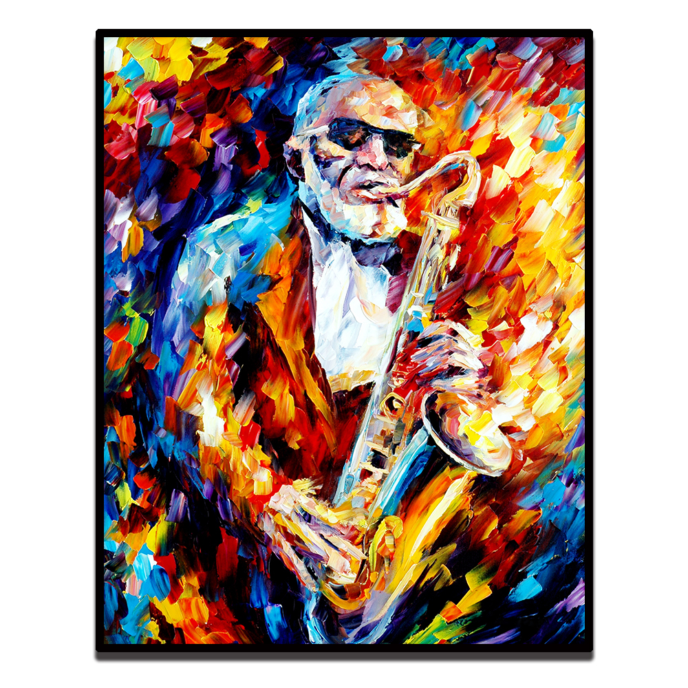 Selmer Jazz Saxophone Music Canvas Fine Art Poster Print Home Wall Decor