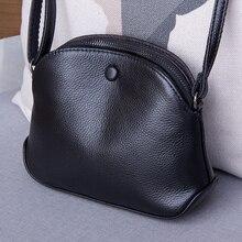 Genuine Leather Womens Bag Fashion Small Crossbody bags for women Shoulder Messenger Bag Luxury Female Purse Handbag sac a main