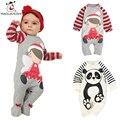 Mola da Roupa Do Bebê recém-nascido de Manga Comprida Macacão de bebê de Algodão Dos Desenhos Animados Meninas Roupas roupas de bebe infantil Meninos trajes