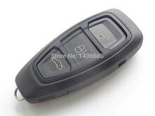 Новый заменить удаленного Оболочки чехол подходит для Ford Fiesta Focus C-Max Smart Remote ключ пустой Fob 3 кнопки черный 1 шт.