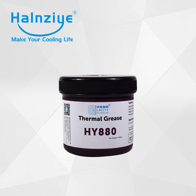 2017 super performance LED silicone heat sink nano thermal grease/paste/compound HY880 1000G with can/tub gd brand thermal conductive grease paste silicone plaster gd460 heat sink compound net weight 1000 grams silver for led cn1000