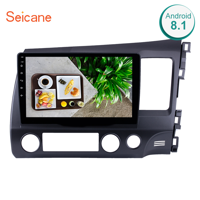 Seicane Android 6.0/7.1/8.1 10.1 Car Radio For HONDA CIVIC RHD Touchscreen 2Din Head Unit GPS Navigation Multimedia PlayerSeicane Android 6.0/7.1/8.1 10.1 Car Radio For HONDA CIVIC RHD Touchscreen 2Din Head Unit GPS Navigation Multimedia Player