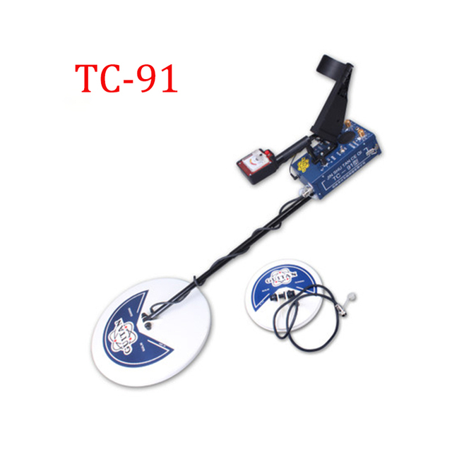 2Coils Professional Metal Detector High Sensitive TC-91 Waterproof Depth 3.5 m Search Treasure Hunter Gold Metals Detectors 2