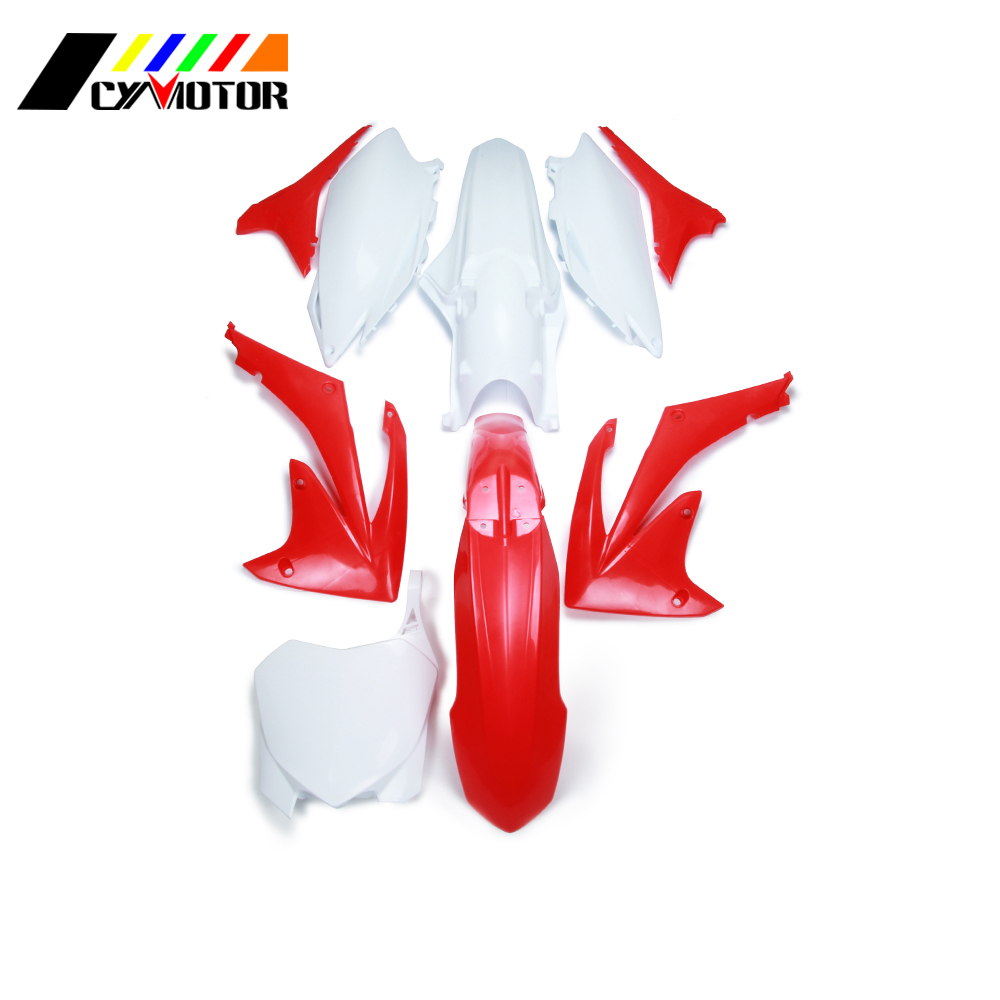 Motocycle Plastic Body Kit Fairing Front Rear Fender Mudguard For HONDA CRF250R 2010-2013 CRF450R 2009-2012 CRF 250 450 R