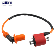 GOOFIT GY6 50cc 60cc 80cc 125cc 150cc 139qmb Scooter Moped High Performance Racing Ignition  Coil H053-045 goofit motorcycles big bore 50mm cylinder rebuild kit gy6 50cc 139qmb racing scooter parts 64mm valve group 11