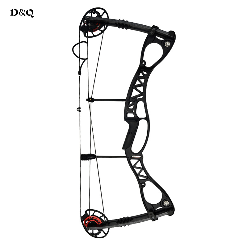 Archery Compound Shooting Bow with Adjustable Draw Weight 40-60lbs Left Right Hand Competition Practice Target Hunting Adult Bow