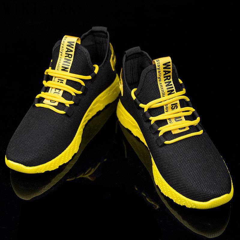 Nefes ayakkabı erkekler spor ayakkabı örgü ayakkabı erkek sneakers casual spor ayakkabı erkek heren sneakers zapatillas hombre ayakkabı