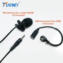 Tuowei для GoPro стерео микрофон с GoPro без Шум микрофон USB 3.5 мм кабель микрофон Профессиональный для GoPro Hero 3/3 +/4