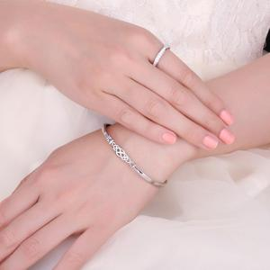 Image 4 - JPalace Crown Celtic Knot Bracelet 925 Sterling Silver Bangles Bracelet Bracelets For Women Silver 925 Jewelry Making Organizer
