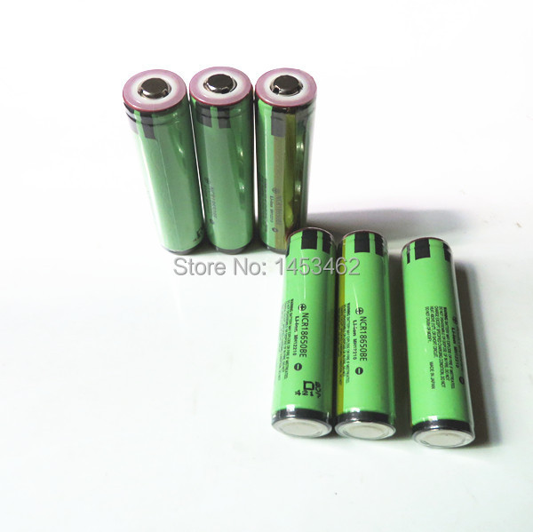 New Original Protected NCR18650BE 18650 3200mah Li-ion Rechargeable battery panasonic PCB - ZhiSheng Battery Store store