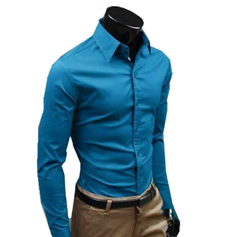 Men Long Sleeve Shirts Dresses Of The Big Size Cotton Imported Clothing Hawaiian Shirt Male Social Blouse Checker Brand-clothing
