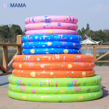 Inflatable play center Swim Center Family pool Water Play Mat for Children and Infants Round Kiddie Pool