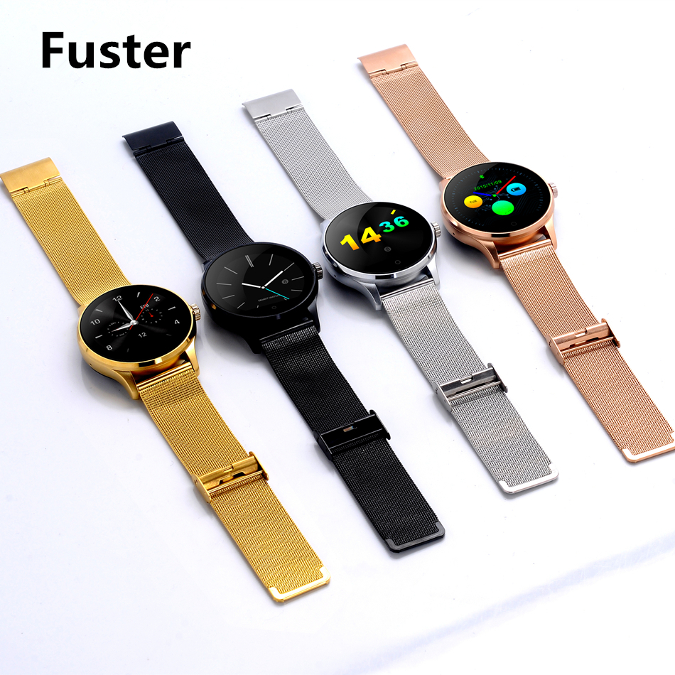 Fuster Original K88H Siri Voice font b Smart b font Watch support Weather reminder IPS capacitive