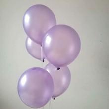 Baby birthday balloons 100pcs 10inch 1.5g pearl latex light purple ballon inflatable wedding party favors anniversaire balloon