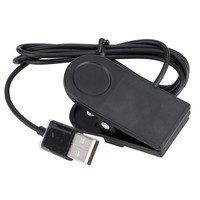 Replacement Clip on Charger Cable Cradle Dock Station For Garmin 910XT Watch