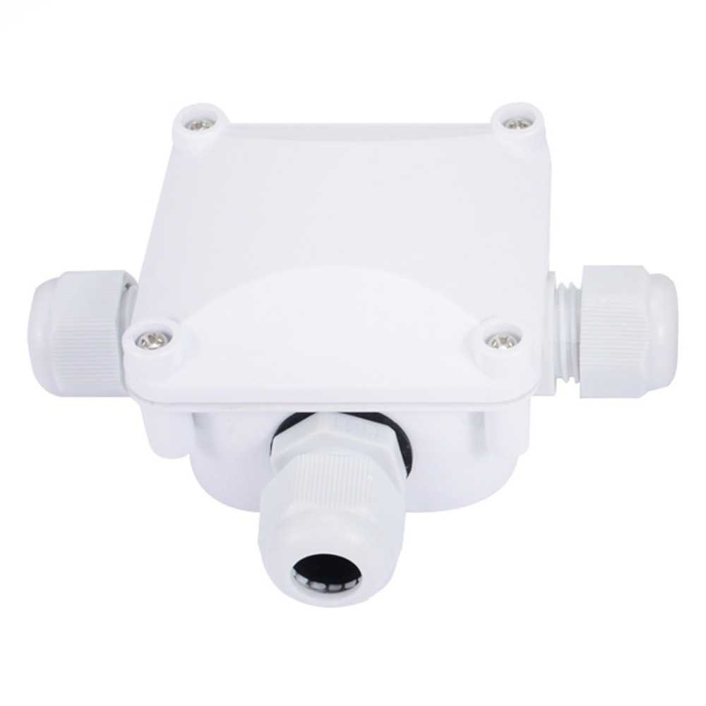 1pc Waterproof Junction Terminal Box 3 Wires Protection Building How To Wire Outdoor Wiring Connectors Ip68 For Lighting Connections In From Lights On
