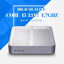 I5 3317u, Barebone компьютерных, Портативных пк, Микро-hdmi + vga, Внешний жесткий диск до 500 г hdd, 6 * usb, Тонкий клиент, I5