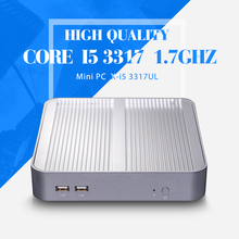 Mini PC,I5 3317U,Barebone Computer,Laptop PC,HDMI+VGA,External Hard Drive to 500G HDD,6*USB,Thin Client,Mini PC i5