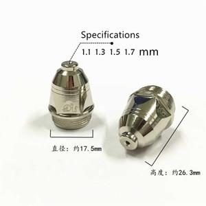 Image 4 - High Quality P80 Inverte Plasma Cutter Cutting Gun Plasma Consumable Black Wolf Accessories Nozzle tips Electrode CNC 100PK