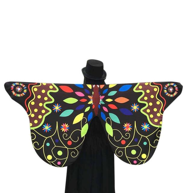 snowshine4   5001 2018 New Design Women Soft Fabric Butterfly Wings Shawl  Fairy Ladies Nymph Pixie b07293355