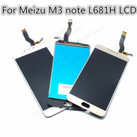 High Quality Replacement Touch Screen Digitizer LCD Display For Meizu M3 Note L681H 5 5 Cellphone