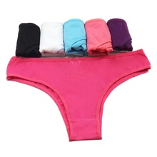 ebc816a4d12 Lot 5 pcs Women Underwear Cotton Everyday Sexy Ladies Girls Panties Briefs  Intimates Lingerie Knickers for