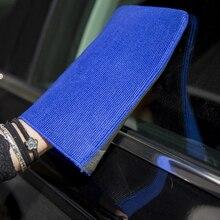 1 шт. перчатка для мытья машины Полотенца мягкой микрофибры Протрите тканевая салфетка раскисление перчатки для уборки тряпка для полировка воском сушки Применение